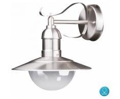 LED lanterne murale façades en acier inoxydable filament lampe extérieure dimmable en jeu, y
