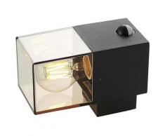 Lampe Exterieure Detecteur De Mouvement à intensité variable 'Keke' en aluminium