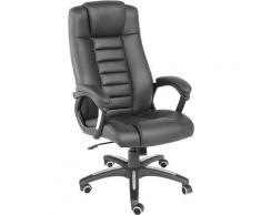 Chaise de bureau, Fauteuil de bureau, Siège de bureau Hauteur réglable, Pivotante Rembourrage Epais