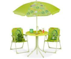Ensemble chaise table de camping , Chaise enfants avec abat-jour, pliable et table, choix de