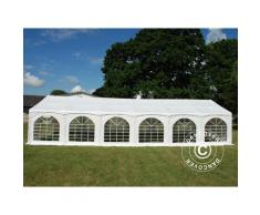 "Tente de réception Exclusive 6x12m PVC, ""Arched"", Blanc"