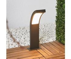 LED Borne Eclairage Exterieur 'Juvia' en aluminium
