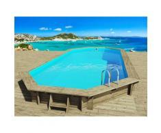 Habitat Et Jardin - Piscine bois ' Ibiza ' - 8.57 x 4.57 x 1.31 m