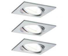 Paulmann 93456 Nova Spot encastrable jeu de 3 LED LED 19.5 W aluminium D652941