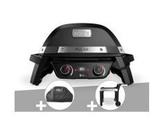 Barbecue électrique Weber Pulse 2000 + Housse + Chariot