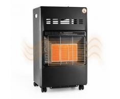 Duramaxx Kamtschatka Poêle à gaz chauffage infrarouge brûleur céramique - noir