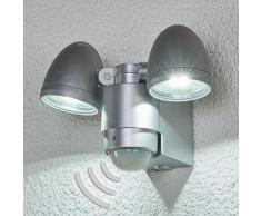 Lampe Exterieure Detecteur De Mouvement 'Todora' en aluminium