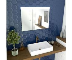 Miroir led SKY LIGHT 80x60 pour salle de bain