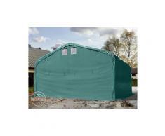 Intent24.fr - Wikinger tente-garage env. 6x6m tente de stockage carport porte d'env. 4,1x2,9m pour