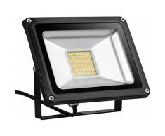 8 PCS 30W LED Lampe d'extérieur Projecteur seul SMD Blanc chaud LLDUK-D4NPT30WB220VX8