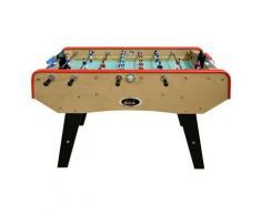 Babyfoot DELUXE type Bistrot - 151 x 77 x 91 cm - Table de Baby-foot avec barres téléscopiques et