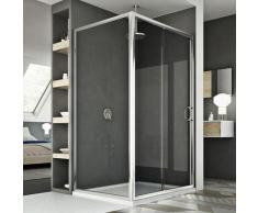 Cabine Douche 70x110 CM H185 transparent modèle Replay Duo 1 Portillon