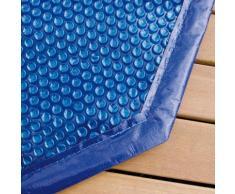 Bâche à bulles pour piscine bois Ubbink octogonale allongée Modèle - Lagon 6,40 x 4,00m octogonale