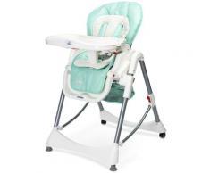 BISTRO   Chaise haute évolutive 2en1 + transat Bébe Enfant   Chaise repas dès 6 mois   Ajustable en