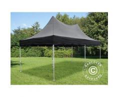 Tente pliable FleXtents PRO Peak Pagoda 3x6m Noir