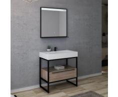 Meuble de salle de bain LAMEZIA 800 Scandinave