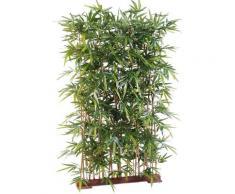 Plante artificielle haute gamme Spécial extérieur/ Haie artificielle Bambou, coloris vert - Dim :