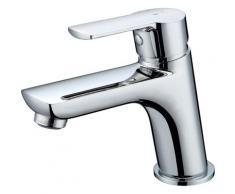 Essebagno - Incli mitigeur lavabo chromé économie d'énergie - Chromé