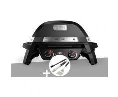 Barbecue électrique Weber Pulse 2000 + Kit ustensiles 3 pièces Better