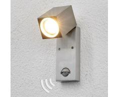 Lindby - Lampe Exterieure Detecteur De Mouvement 'Loris' en aluminium