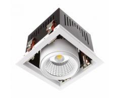 Projecteur LED SAMSUNG Grill Orientable COB 30W LIFUD Blanc Neutre 4000K