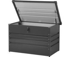 Beliani - Coffre de rangement gris foncé 100 x 62 cm CEBROSA