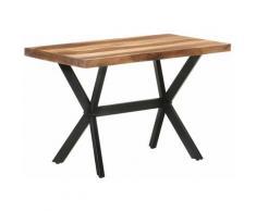 Youthup - Table de salle à manger 120x60x75 cm Bois massif