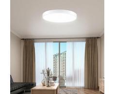 7 PCS Plafonnier rond ultra-mince à LED pour la cuisine de salle de bain LiVing LLDUK-MC0004009X7