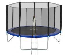 Trampoline Garfunky - trampoline d´extérieur, trampoline de jardin, trampoline enfant - 396 cm