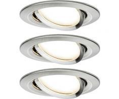 Spot encastrable Paulmann Nova 93447 LED Puissance: 19.5 W blanc chaud N/A