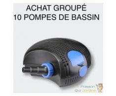 Achat Groupé : 10 Pompes Bassin De Jardin Et Étangs HYPER ECO 10000 l/h 80W