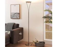 LED Lampadaire à intensité variable 'Mauricio' en métal pour salon & salle à manger