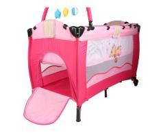 ®Lit Bébé parapluie (Rose) Lit de voyage Lit pour nouveaux nés Lit pliant Lit d'appoint, maniable