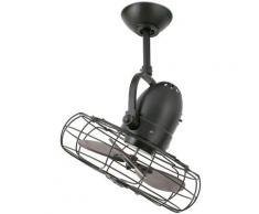 Ventilateur de plafond modèle KEIKI-Marron