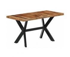 Vidaxl - Table de Salle à Manger Bois de Sesham Massif 140x70x75 cm