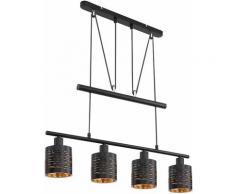Etc-shop - Lampe suspendue table à manger suspension moderne réglable en hauteur lampe de table à