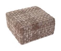 Coussin dkd home decor gris polyester coton (60 x 60 x 32.5 cm) - Rogal