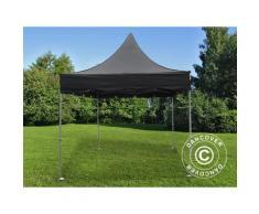 Tente pliable FleXtents PRO Peak Pagoda 3x3m Noir