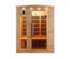 Sauna infrarouge cabine 3 places APOLLON 2280W