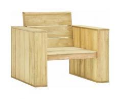 Vidaxl - Chaise de Jardin Bois de Pin Imprégné 89x76x76 cm 1 pc