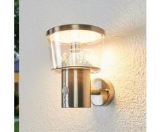 Lindby - LED Lampe Exterieure Detecteur De Mouvement 'Antje'