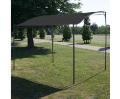 Asupermall - Auvent de parasol 3 x 2,5 m Anthracite