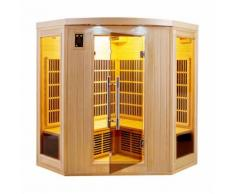Sauna infrarouge cabine 3-4 places APOLLON 2280W