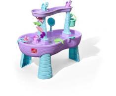 Rain Shower Splash Licornes Table d'eau avec 13 accessoires   Table de jeu enfant a eau   Table