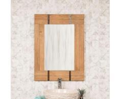 Wanda Collection - Miroir de salle de bain naturel Loft 60x80 naturel