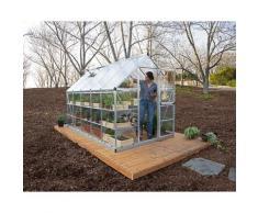 Serre de jardin HYBRID 6x10 argent - 5.7m²