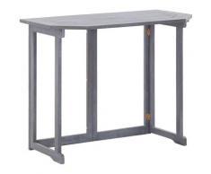 Asupermall - Table pliable de balcon 90x50x74 cm Bois d'acacia massif
