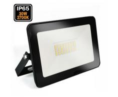 Projecteur LED 30W Ipad Blanc chaud 2700K Haute Luminosité