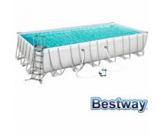 Piscine Tubulaire Amovible Bestway Power Steel 732x366x132 cm Filtre à sable de 5.678 litres/heure