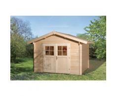 Abri de jardin Premium 28, Taille 4, Avancée de toit de 20 cm